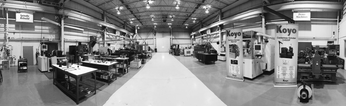 Koyo Machinery's Newly Expanded Machine Rebuild Department - Industry News Stories & Mailing List Subscription | Koyo Machinery USA - shop2